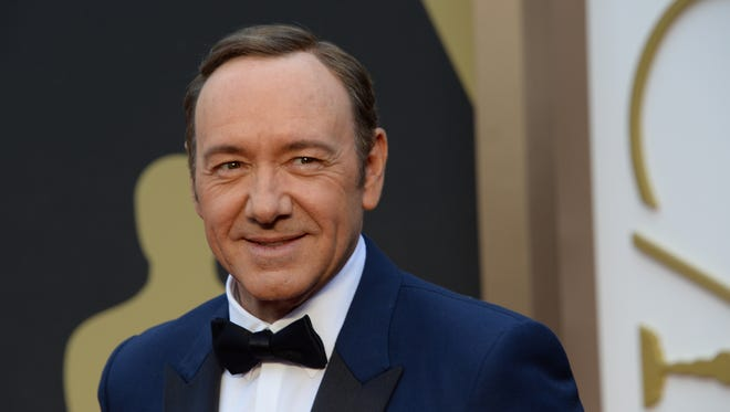 Kevin Spacey, at the Oscars in 2014, has been accused by Anthony Rapp  of making a sexual advance when Rapp was 14.