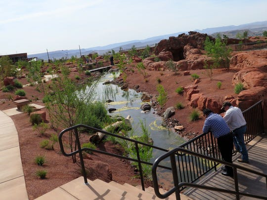 Wednesday marked the opening of the Red Hills Desert Garden, a new interpretive park and conservation garden located on Red Hills Parkway above the central part of St. George.