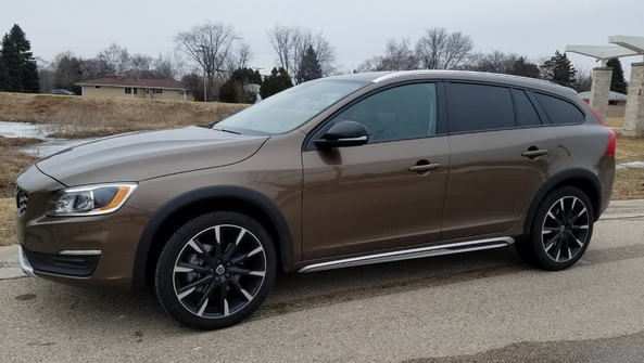 The 2017 Volvo V60 T5 AWD Cross Country mixes style