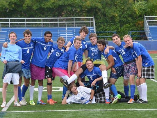 Wyoming High School senior boys soccer players Owen