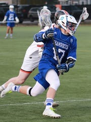 CC's Ethan Pattinson (17) had three straight goals
