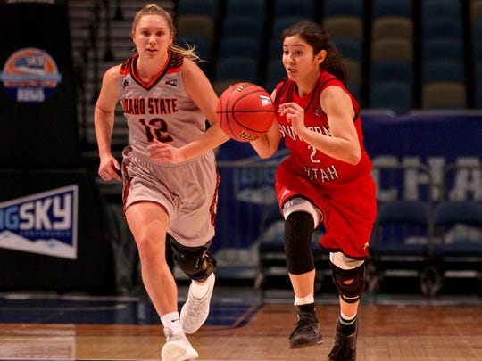 Idaho State topped SUU 59-49 in the first round of the Big Sky tournament Monday in Reno.