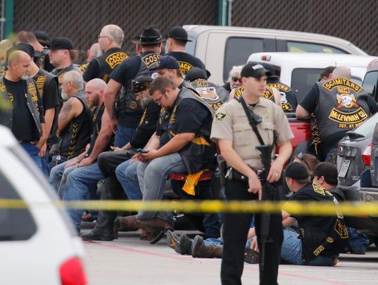 AP APTOPIX WACO SHOOTING A USA TX