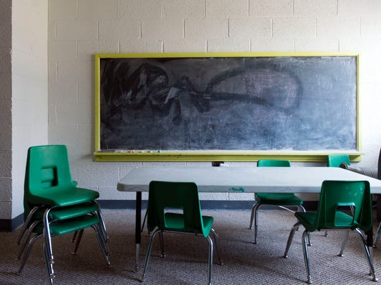 Antioch Community Church uses space at Fourth United Presbyterian Church for their ministry. Antioch clean and maintain many of the Fourth Presbyterian's rooms, like this classroom.