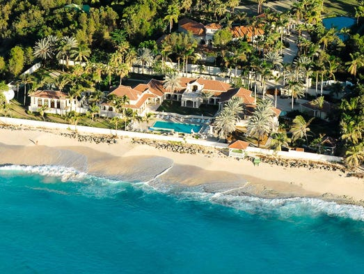 Le Chateau Des Palmiers On The Island Of St Martin