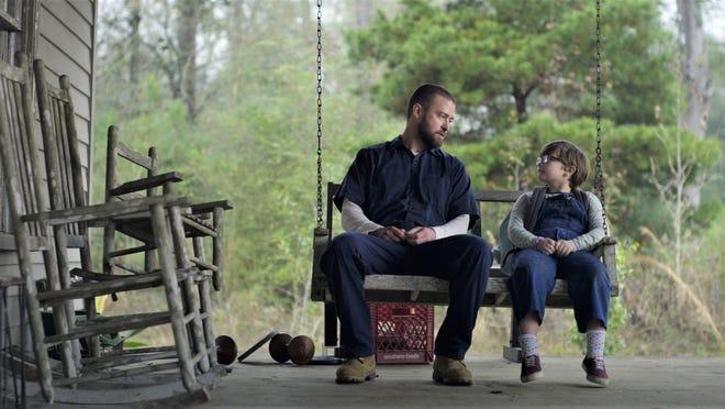 Eddie (Justin Timberlake) and Sam (Ryder Allen) talk about life.