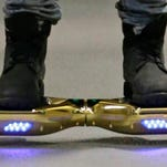 Since December 2015, several universities have banned or limited hoverboards on their campuses, saying the two-wheeled, motorized scooters are unsafe. Beyond the risk of falls and collisions, colleges are citing warnings from federal authorities that some of the self-balancing gadgets have caught on fire.