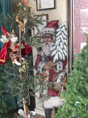 """Christmas in the Mansion"" decorations on display at"