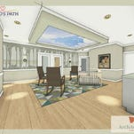 Pictured is a rendering of what the 24 private nurseries will look like when Brigid's Path opens in Dayton. The facility will specialize in caring for newborns suffering withdrawal from drugs and connecting mothers with treatment.