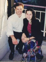 Sara Duker and her boyfriend, Matthew Eisenfeld, in