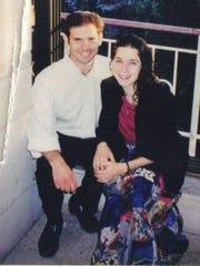 Sara Duker and her boyfriend, Matthew Eisenfeld, in