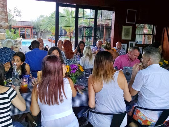 Sparrows Lodge is quickly becoming known for its communal-style dining on Wednesday and Saturday evenings.