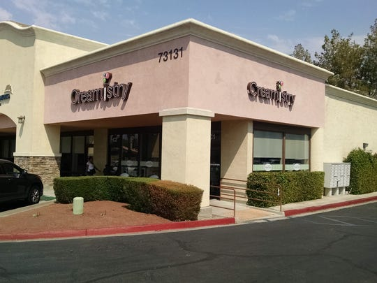 Creamistry in Palm Desert sells liquid nitrogen-infused ice cream.