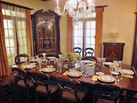 The Kell House Museum is known for its antiques, including