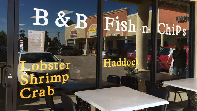 B&B Fish N Chips is located in an L-shaped strip plaza off of Pine island Road in Cape Coral.