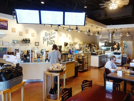 The interior of Farmboy in Chandler.
