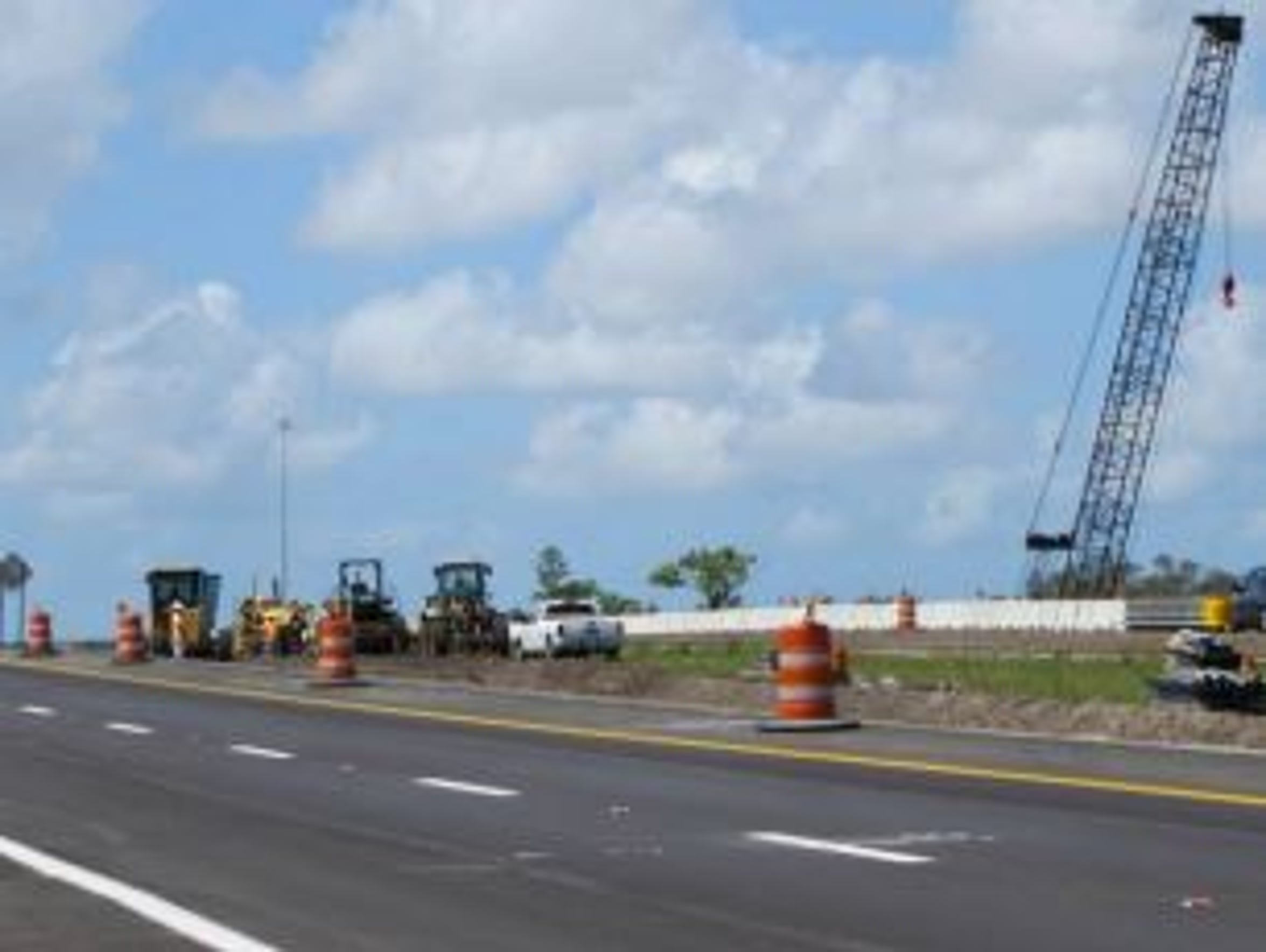 Work to widen Interstate 75 from Dr. Martin Luther
