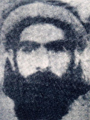 An undated photograph reportedly shows Taliban supreme leader Mullah Omar.