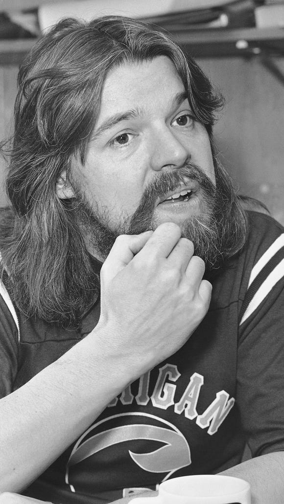 Shown in photo are head and shoulder shots of Bob Seger shown in 1980.
