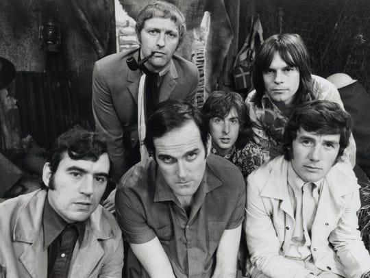 Monty Python in 1969. Bottom from left, Terry Jones,