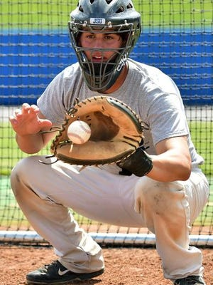 Catcher Carlos Diaz hit well in his only season at Jackson State.