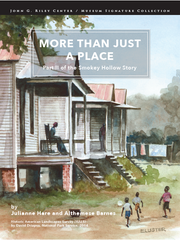 "The second book of oral histories, ""More Than Just A Place -- Part II of the Smokey Hollow Story,"" is on sale at the Riley Center/Museum for $32.99."