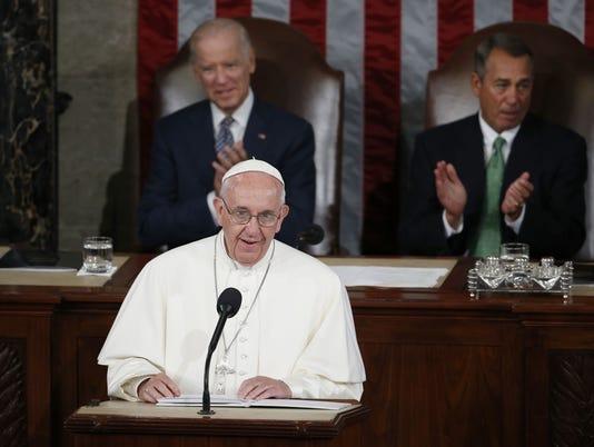 Pope Francis, Joe Biden, John Boehner