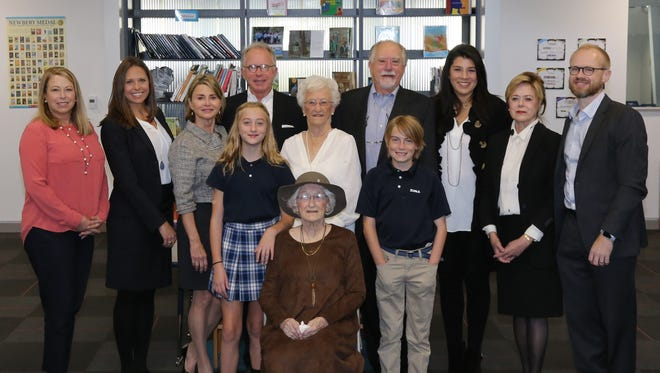 Episcopal School of Acadiana dedicated its library to John and Norma Lee Dupre.