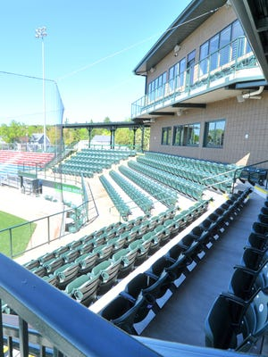 Athletic Park field, which has undergone many renovations in the last few years, will open at the end of May for the 2017 Woodchucks season.