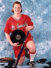 Christina Kowalski set several records during her softball