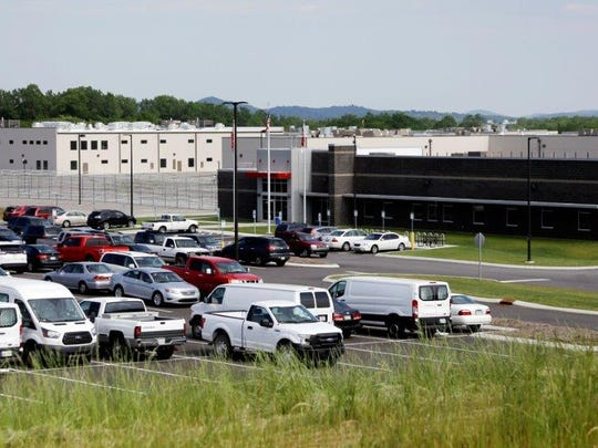 Trousdale Turner Correctional Center is shown Tuesday, May 24, 2016, in Hartsville, Tenn.