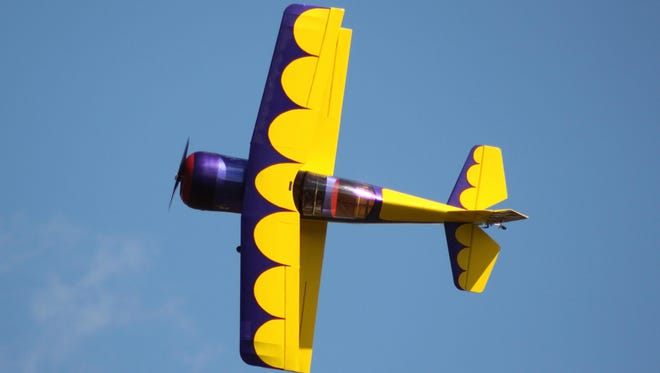 The Festival of Giants R/C Air Show returns to Chenango Bridge this week.