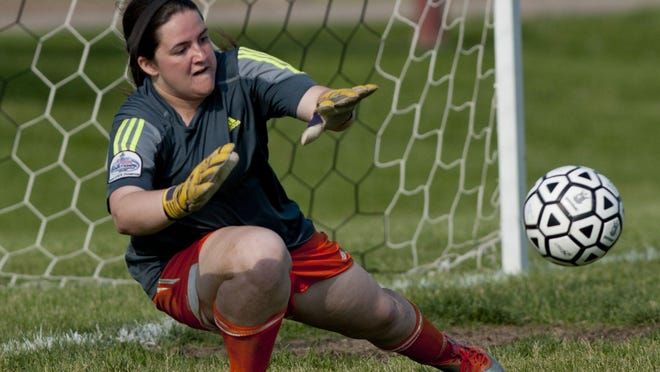Armada goalkeeper Davanna White was named Blue Water Area Conference MVP after leading her team to an unbeaten league season.