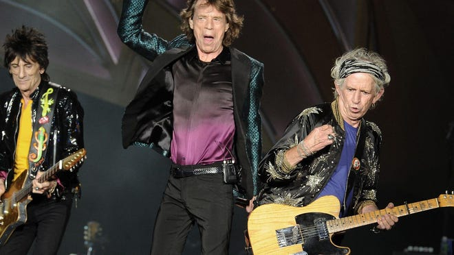 Mick Jagger and The Rolling Stones perform at LP Field on Wednesday June 17, 2015, in Nashville.