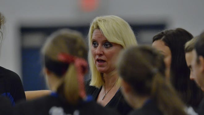 """Pickens volleyball coach Jennifer Gravely, on her team getting better as the season goes along: """"You want to peak at the end when everything is on the line."""""""