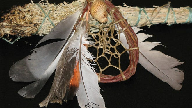 Native Americans used fragrant plants to create smudge sticks unique to the local native plant community.