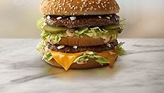 A McDonald's Big Mac.