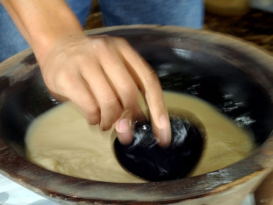 Kava the traditional drink of the pacific at the P