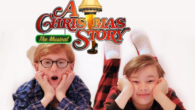 "Cameron Cason and Courtland Alexander star in Stage Center's production of ""A Christmas Story"" at the Emmett Hook Theatre in Shreveport."