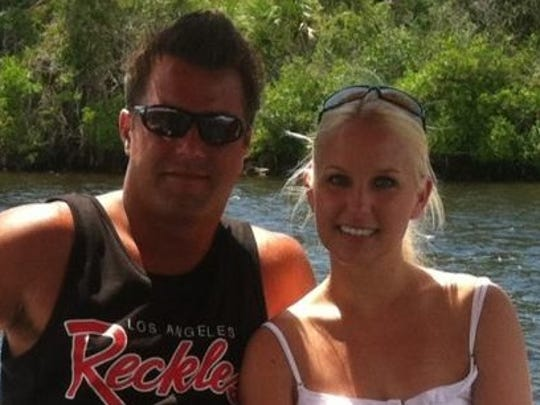 Glenn and Lisa Harnish, of Berkshire, are open to buying a boat in the near future.