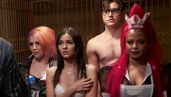 Fox's new 'Rocky Horror Picture Show' cast.