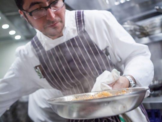 Chef Vincenzo Betulia of Osteria Tulia in Naples.