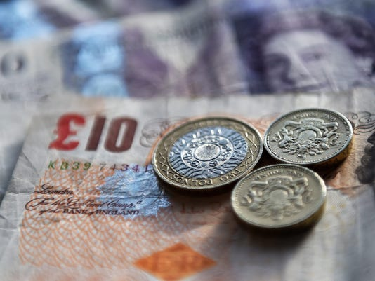 Pound Sterlin falls to lowest rate in three decades