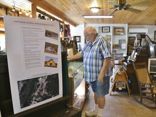 Tom Marshall, Three Rivers Museum curator, has been