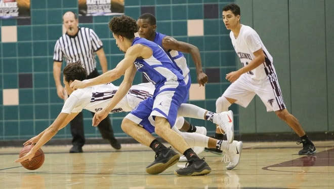 The La Quinta Blackhawks basketball team lost Wednesday's home playoff game against Burbank by a score of 65-59.