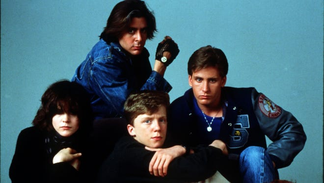 Clockwise, from left: Ally Sheedy, Judd Nelson, Emilio Estevez, Molly Ringwald and Anthony Michael Hall in 'The Breakfast Club.' John Hughes' 1985 comedic drama has been inducted into the National Film Registry of the Library of Congress.