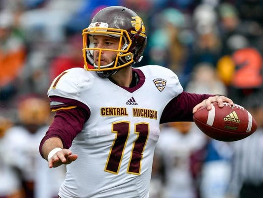 NCAA Football: Central Michigan at Boston College