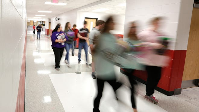 Students are excited about completion of the $24 million renovation of and additions to the Lomira School District.
