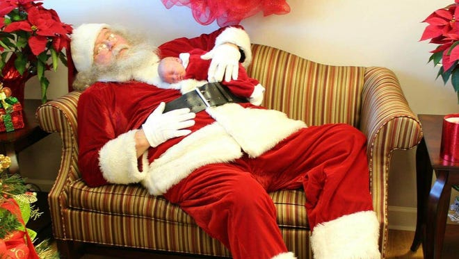 Santa will make the rounds to Wilson Bank & Trust branches this season.