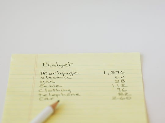 Write your budget down.